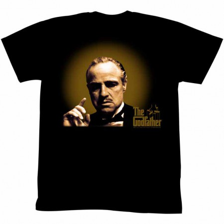 Godfather Glowing And Showing Black TShirt
