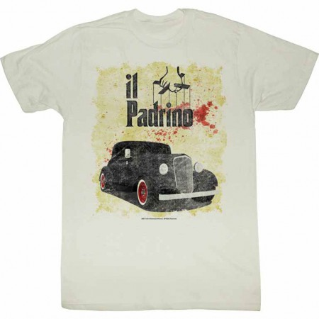 Godfather Respect Me Off White TShirt