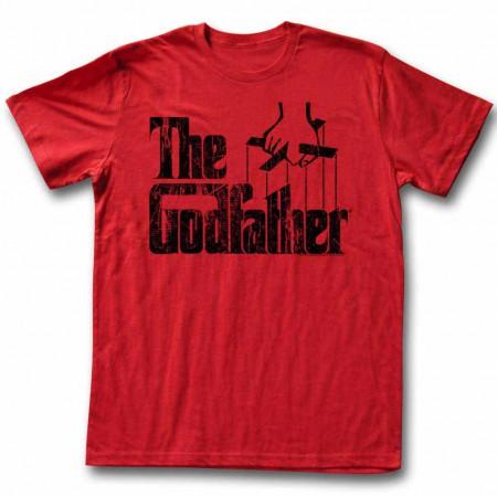 Godfather Logo Black Red TShirt