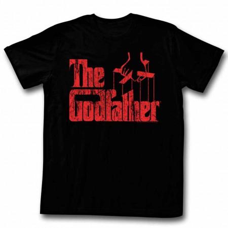 Godfather Logo Red Black TShirt