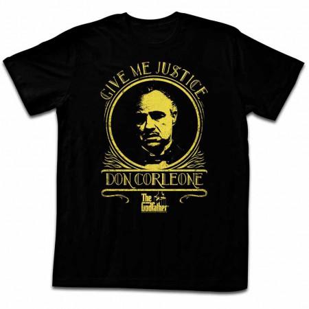 Godfather Justice Black TShirt