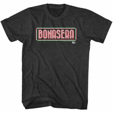Godfather Bonasera Black TShirt