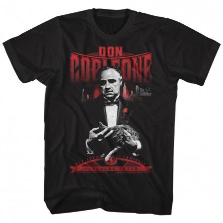 The Godfather Don Corleon Tshirt