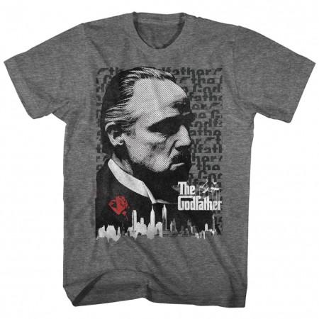 Godfather Stare Grey Tshirt