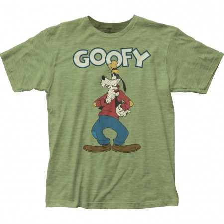 Goofy Men's Green Classic T-Shirt