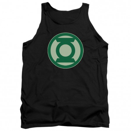 Green Lantern Logo Black Tank Top