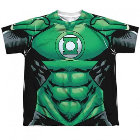 Green Lantern Costume Youth Tee