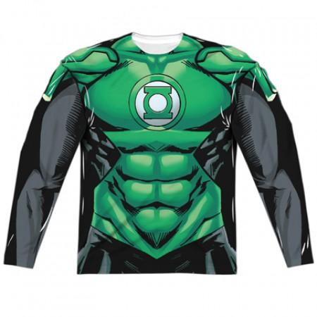 Green Lantern Long Sleeve Costume Tee