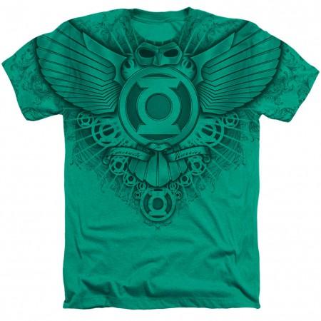Green Lantern Sublimated Logo T-Shirt