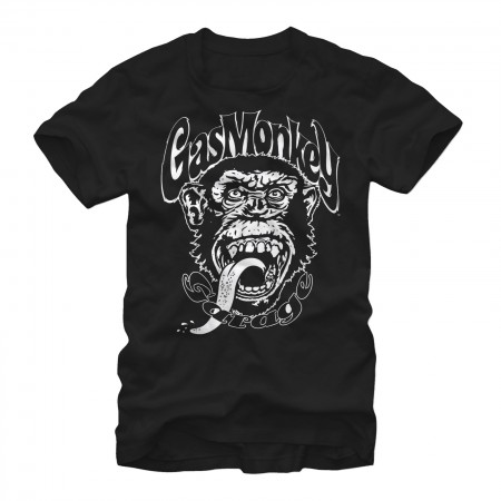 Gas Monkey Garage Logo Black T-Shirt