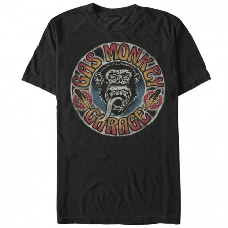 Gas Monkey Garage Grateful Garage Black T-Shirt