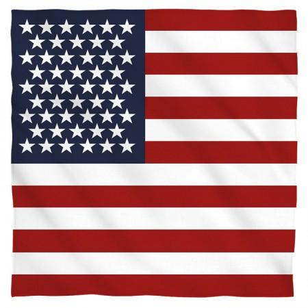 American Flag Patriotic Bandanna