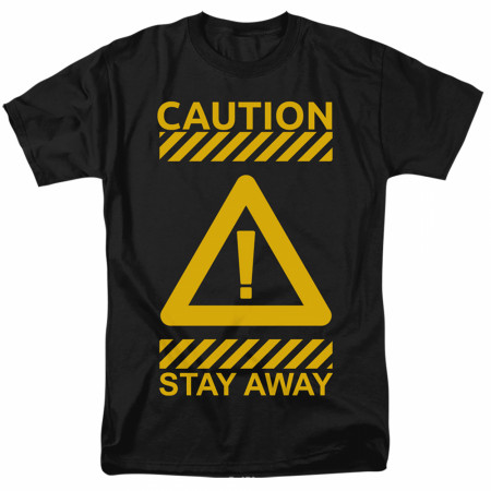 Caution Stay Away Social Distancing T-Shirt