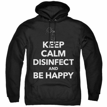 Keep Calm and Disinfect Social Distancing Hoodie