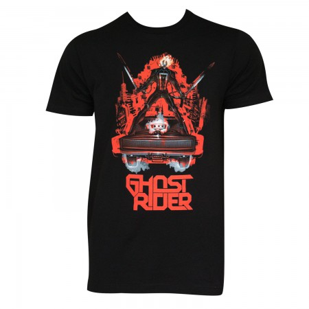 Ghost Rider Men's Black Ghost Ride The Whip T-Shirt
