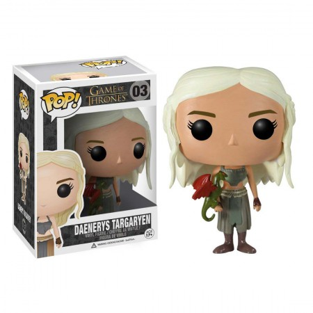 Funko Pop Game Of Thrones Daenerys Targaryen Vinyl Figure