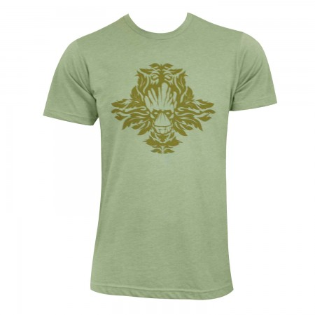 Guardians Of The Galaxy Men's Green Leafy Groot T-Shirt