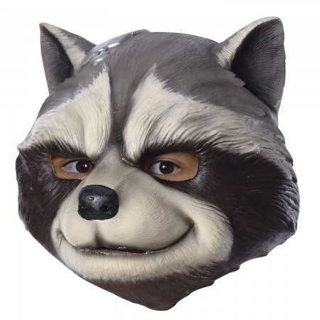 Guardians Of The Galaxy Latex Rocket Raccoon Adult Mask