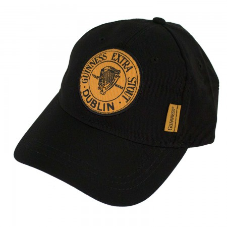 Guinness Black Adjustable Extra Stout Hat