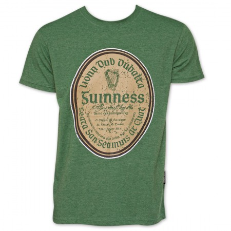 Guinness Beer Gaelic Label Shirt - Green