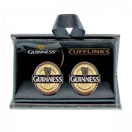 Guinness Label Men's Cufflinks