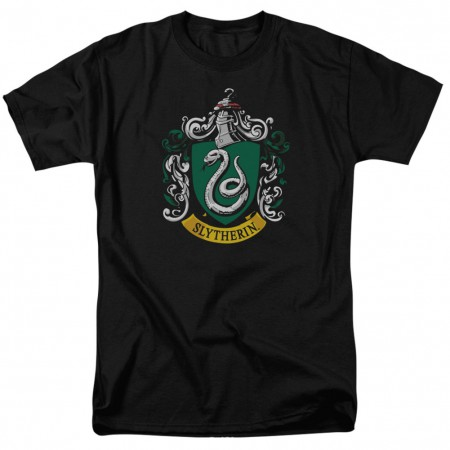 Harry Potter Slytherin Crest Tshirt
