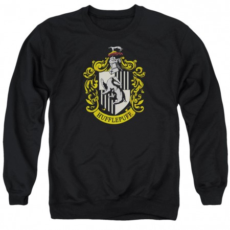 Harry Potter Hufflepuff Crest Crewneck Sweatshirt