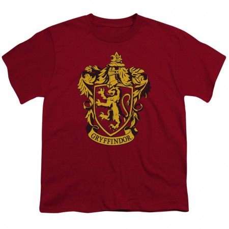 Harry Potter Gryffindor Crest Youth Tshirt