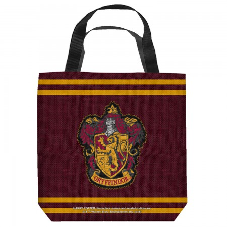 Harry Potter Gryffindor Crest Tote Bag