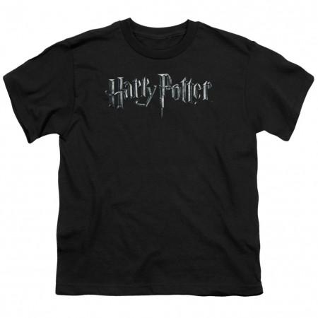 Harry Potter Logo Youth Tshirt