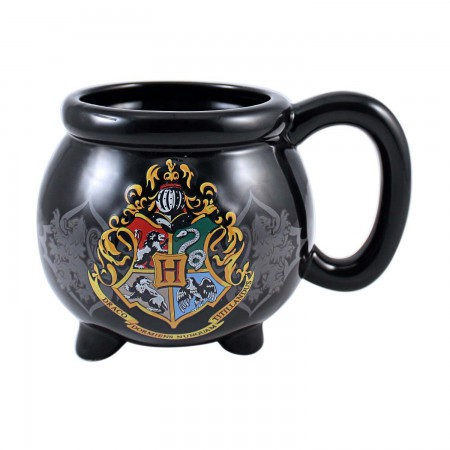 Harry Potter Hogwarts Black Jumbo Cauldron Mug