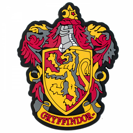Harry Potter Rubber Gryffindor Magnet