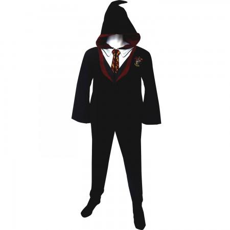 Harry Potter Gryffindor Adult Union PJ Suit