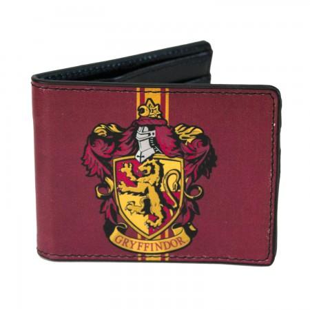 Harry Potter Bi-Fold Maroon Gryffindor Wallet