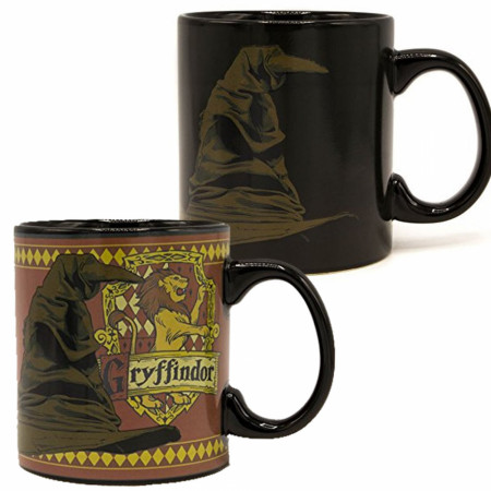 Harry Potter Gryffindor Sorting Hat Heat Change Mug