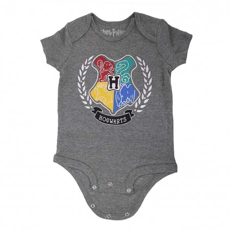 Harry Potter Snap Infant Bodysuit Hogwarts Onesie
