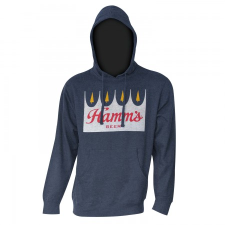 Hamm's Beer Men's Navy Blue Hoodie