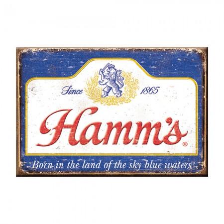 Hamm's Faded Logo Magnet