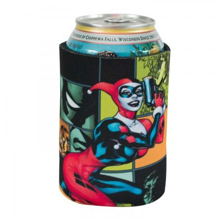 DC Comics Harley Quinn Can Cooler