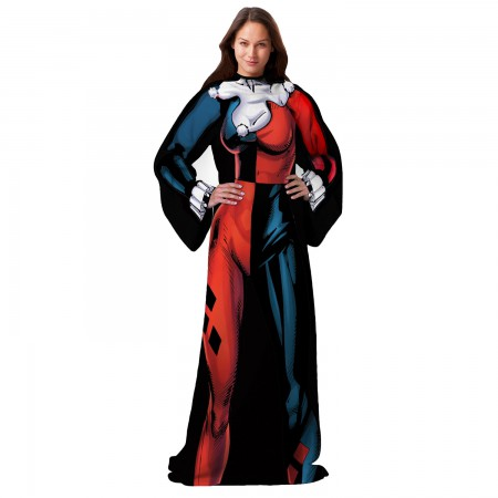 Harley Quinn Ladies Snuggie