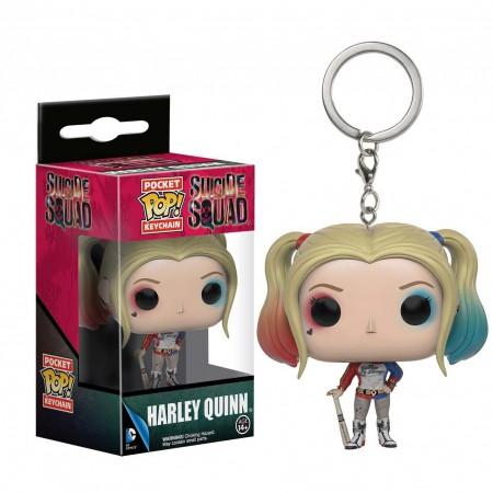 Harley Quinn Funko Pop Keychain