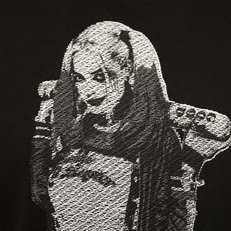Harley Quinn Embroidered Tee Shirt