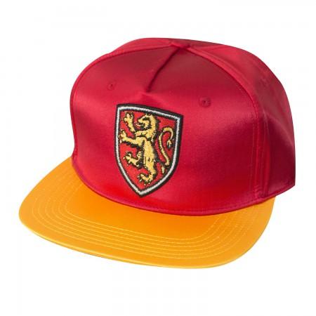 Harry Potter Red Satin Gryffindor Hat