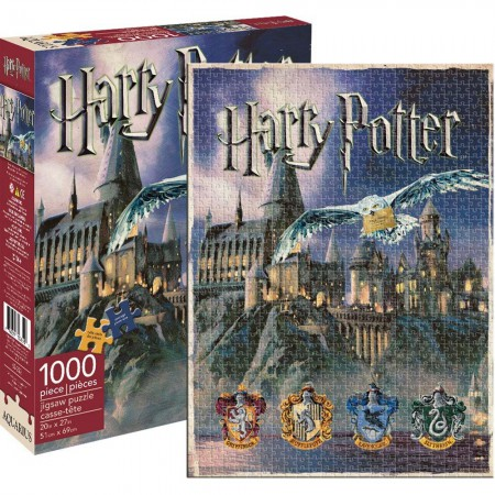 Harry Potter 1000 Piece Hogwarts Puzzle