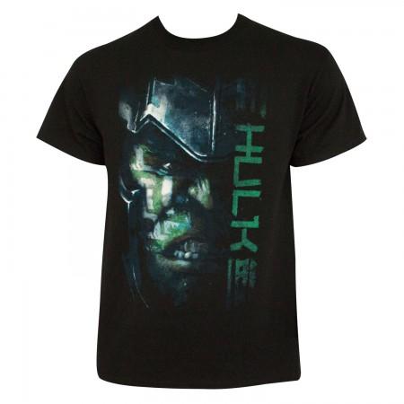 Thor Ragnarok Men's Black Hulk T-Shirt