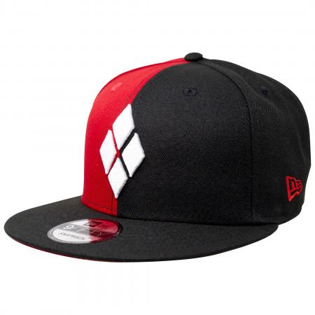 Harley Quinn Diamonds New Era 9Fifty Adjustable Hat