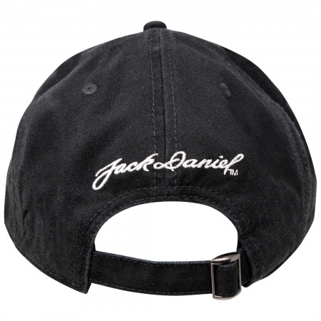Jack Daniels Old No. 7 Cotton Twill Black Hat