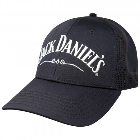 Jack Daniels Classic Logo Black Performance Hat