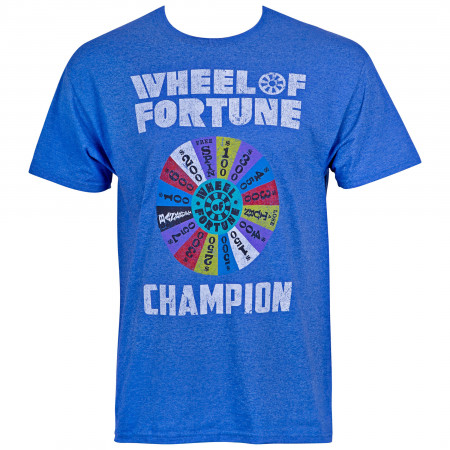 Wheel Of Fortune Champion Blue Men's T-Shirt