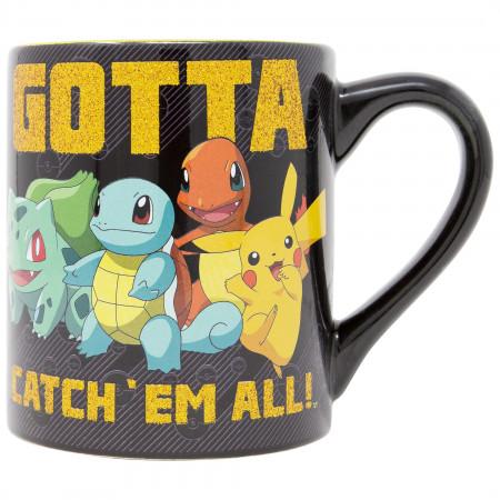 Pokemon Gotta Catch Them All 14 Ounce Mug